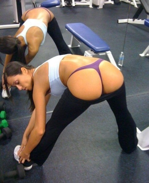 Step Sister Yoga Pants Ripped