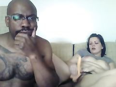 Role Playing White Girl Fucking Her Black Boyfriend