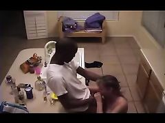 Cheating Wife Secretly Filmed with Her Black Lover Making Sex