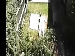 Topless Woman Spied by Her Neighbor