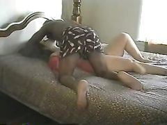 Passionate Sex Between Wife with Black Stud