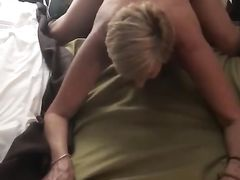 Mature granny pounded doggystyle first time by fat BBC