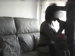 Hot wife gets a black stud for her birthday