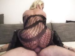 Fucking a horny blonde woman she loves getting that cock in her pussy