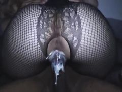Her fine pussy is so good black partner cannot stop cumming in her