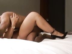 Serious interracial fucking session between stunning woman and BBC