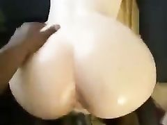 Big black cock creaming that white tight pussy